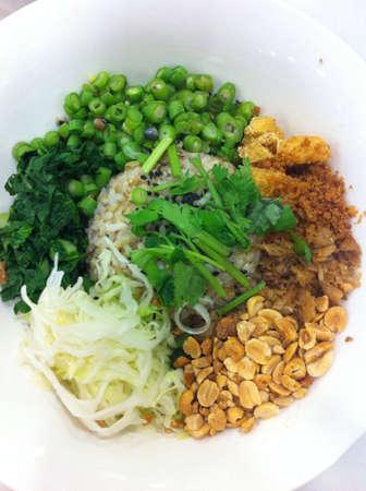 long bean: Lei cha a Hakka dish