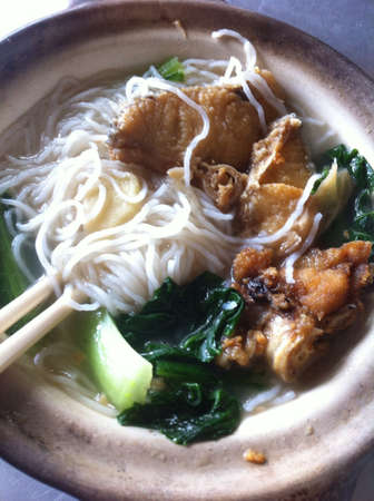 claypot fish noodles