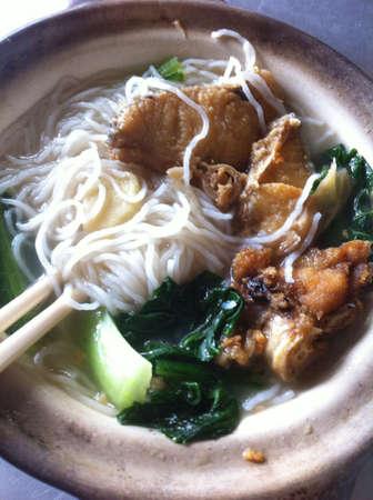 claypot fish noodles