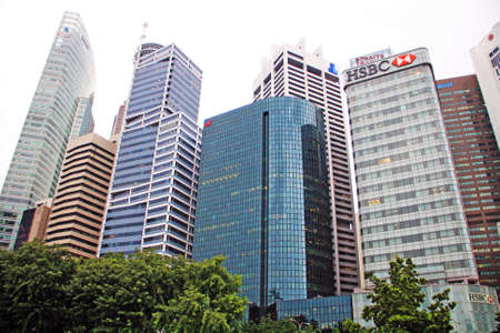 Skyscrapers in Singapore