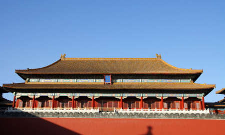 Imperial Palace in Forbidden City, Beijing China
