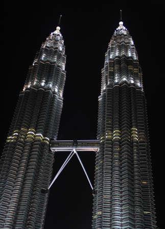 Petronas Twin Towers Malaysia Editorial