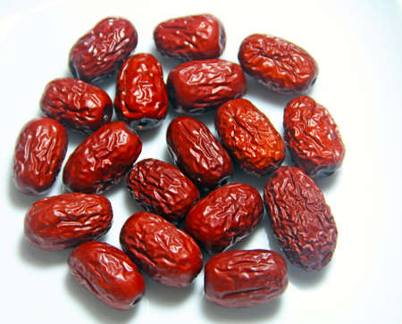 Jujube Dried Red Dates Stock Photo