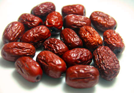 tcm: Jujube Dried Red Dates upclose