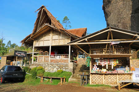 Tavern by the road in Garut, Indonesia