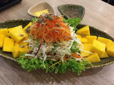 Fresh mango salad