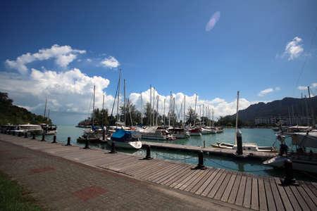Telaga Harbour in Langkawi - Yatch Berth