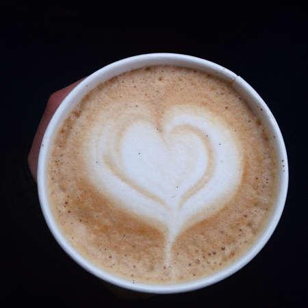 art: Latte art Stock Photo