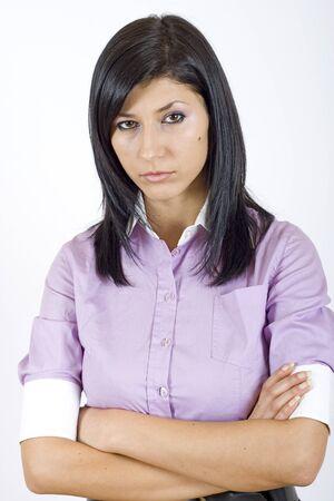 attractive businesswoman Stock Photo - 4169304