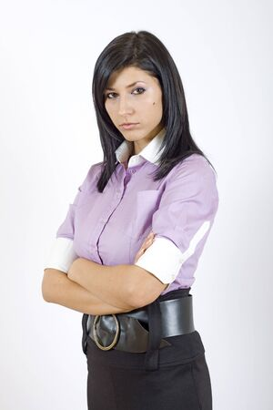 attractive businesswoman Stock Photo - 4169291