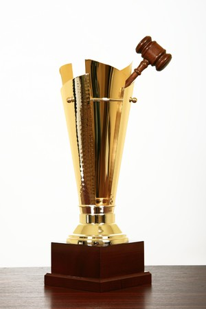 award for best judge Stock Photo - 4370663