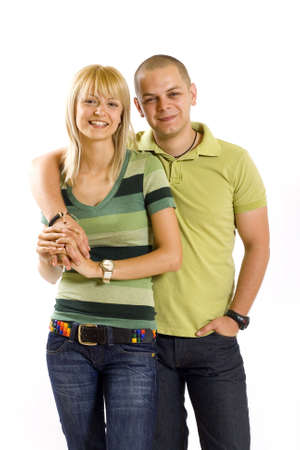 young casual couple Stock Photo - 4942502