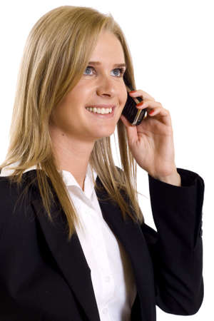 attractive businesswoman on the phone Stock Photo - 4942449