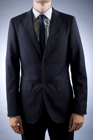 cut out image of a businessman in suit Stock Photo - 5511165