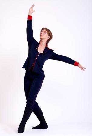 Ballet Dancer over white background Stock Photo - 7564671