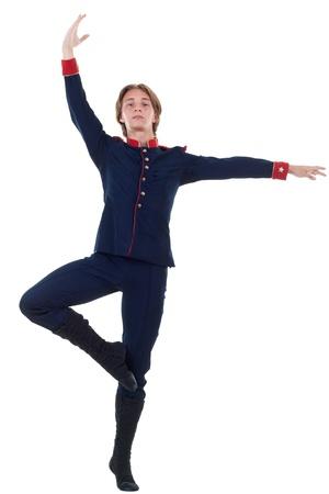 ballet hombres: joven bailar�n de Ballet