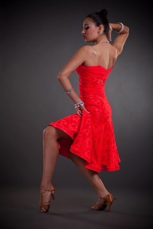 side view of a sexy young latino dancer Stock Photo - 10933799