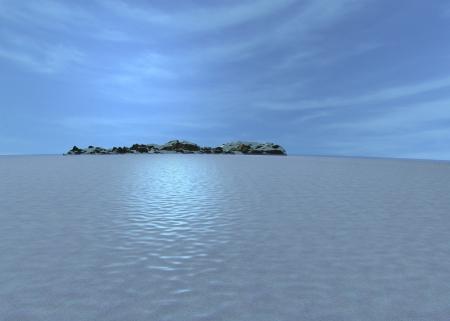 environment - sea and island