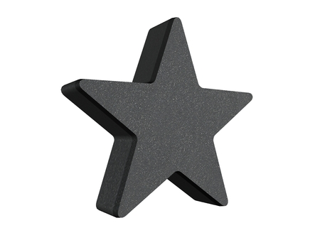 rate star number 3d photo