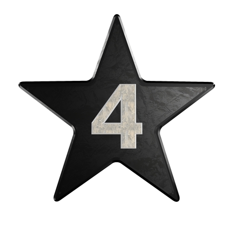 rate star number 4 3d Marble photo