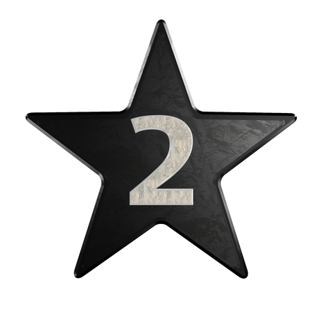 rate star number 2 3d Marble