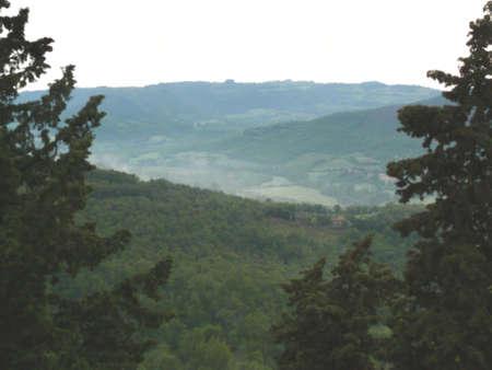 terni: panorama from Parrano (Terni - Italy)
