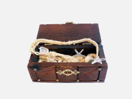 lockbox: Little treasure chest with knick-knack
