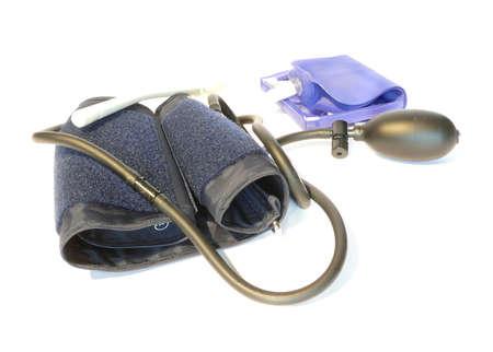 einlauf: Blutdruck-Meter-Ger�t mit Einlauf Tasche