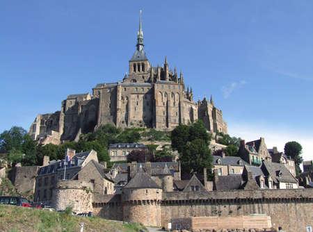 basse normandy: Le Mont Saint Michel (Normandie - France)