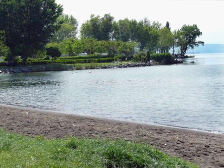 Lake Bolsena:  shore and park photo