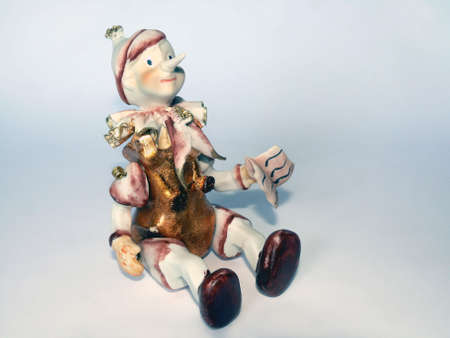 Ceramic figure of Pinocchio puppet  Stock Photo - 4269966