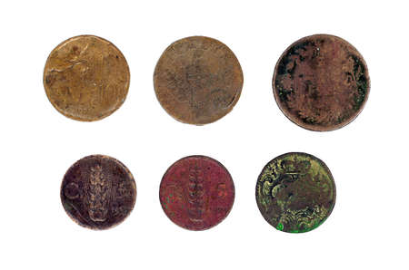 half cent: Ancient Italian monarchy coins