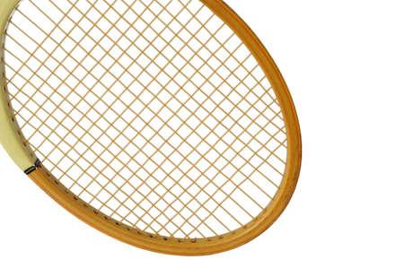 racquetball: Detalles de la cosecha utilizado racquetball Foto de archivo