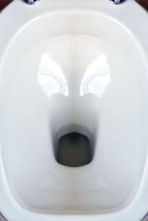 piddle: Bathroom: inside a toilet Stock Photo