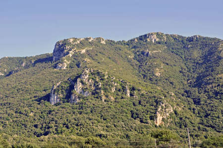apennines: Some Apennines peak with vegetation