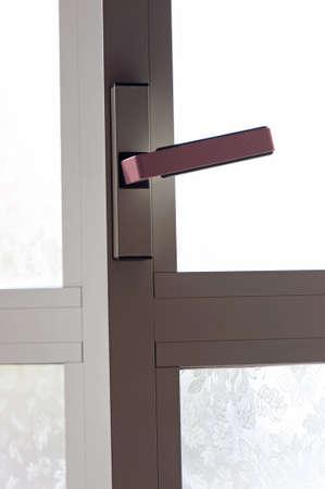 Frame van luiken venster details Stockfoto