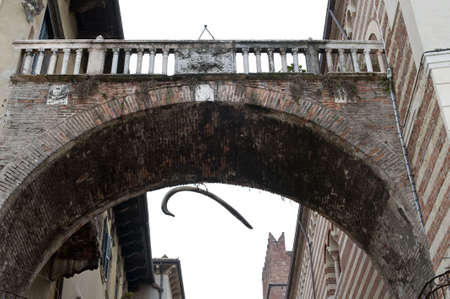 Arco della Costa in Verona, Italy photo