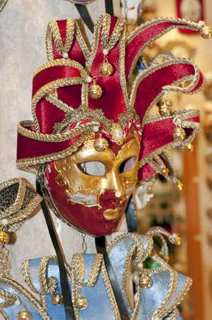 Traditional Venetian masks, Venice, Italy  photo