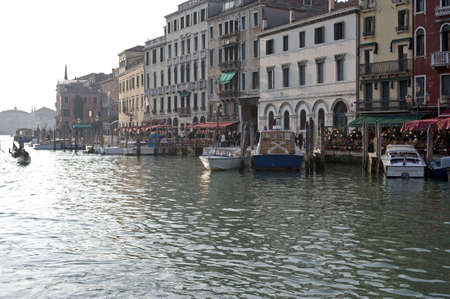 View of Canal Grande in Venice, Italy photo
