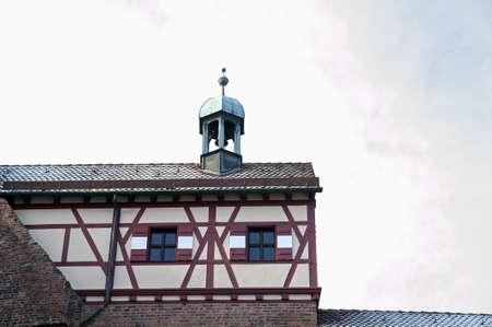 Detail of a roof in the Nuremberg castle area, Germany Stock Photo - 17401589