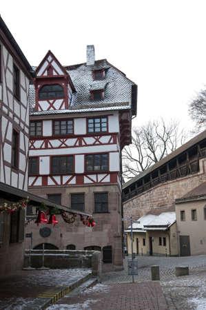 albrecht: Albrecht Drer s House, Nuremberg, Germany
