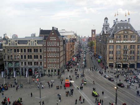 dam square: Sight of Dam square, Amsterdam, Netherlands