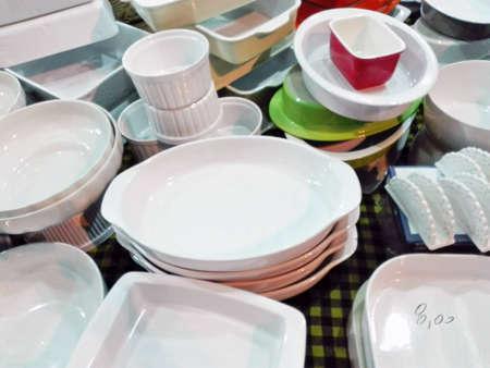 rummage: Pottery Stock Photo