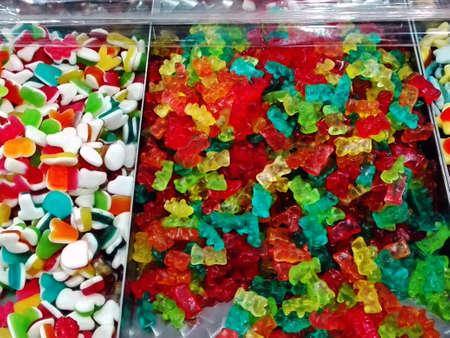 rubbery: Jelly baby Stock Photo