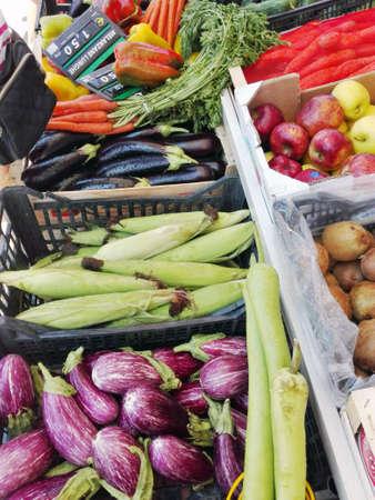 greengrocer: Fruter�a establo Foto de archivo
