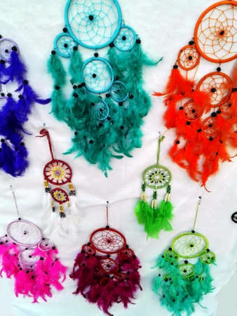 legends folklore: Dreamcatcher Stock Photo