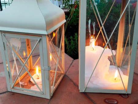 hurricane lamp: Clearstory