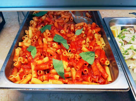 dinnertime: Baked pasta