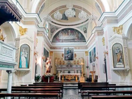 worshipper: Church interior