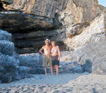 effusion: Spouses at beach